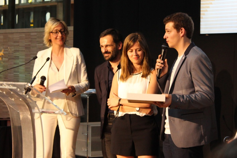 Estelle Pannier & Valentin Penault - prix vision